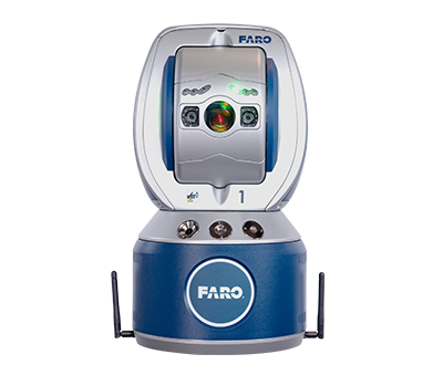 Les équipes d'EnerServ utilisent des technologies de pointe tel que le laser de poursuite Faro pour des mesures 3D